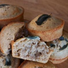 Walnut Sage Financiers
