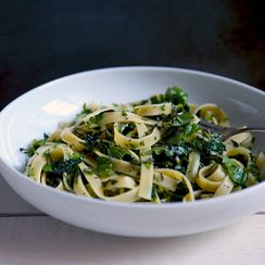 Herb-Crushed Pasta