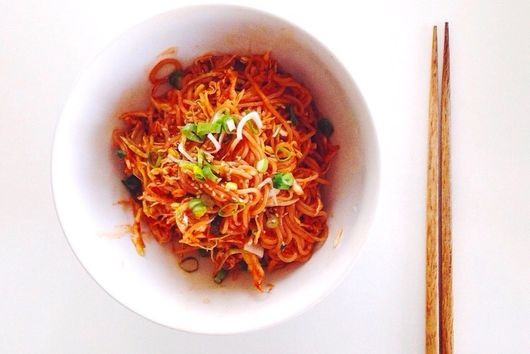 Spicy Cold Korean Noodles