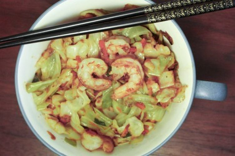 "Shrimp ""Egg Roll"" Stir Fry"