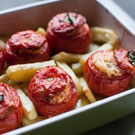 Rachel Roddy's Roman-Style Stuffed Tomatoes With Rice