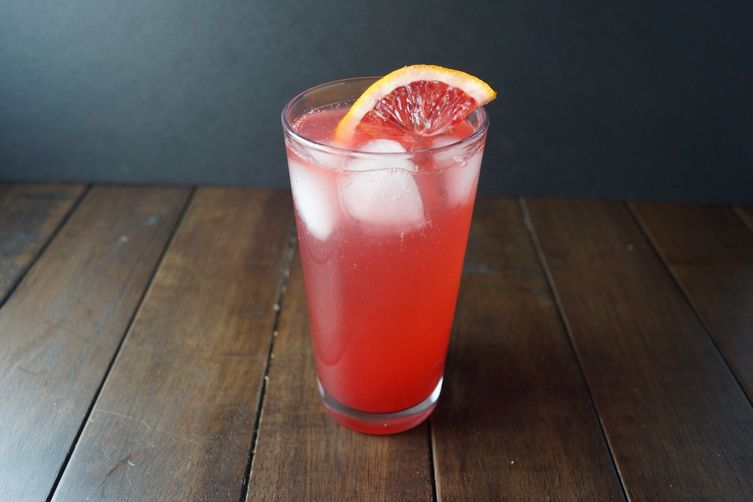 Blood Orange Campari Soda