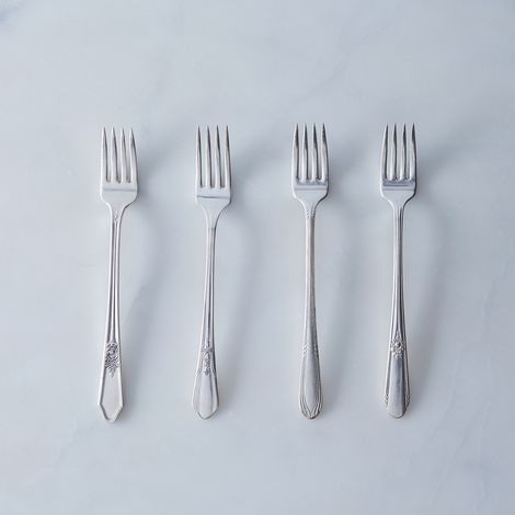 Vintage Grille Forks (Set of 4)