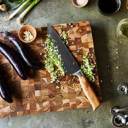 Oliva Elité Olive Wood Handled Knives