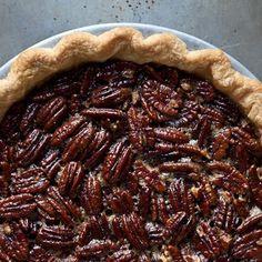 Melissa Clark's Spiced Maple Pecan Pie with Star Anise