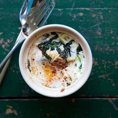 Sardou-Inspired Egg en Cocotte