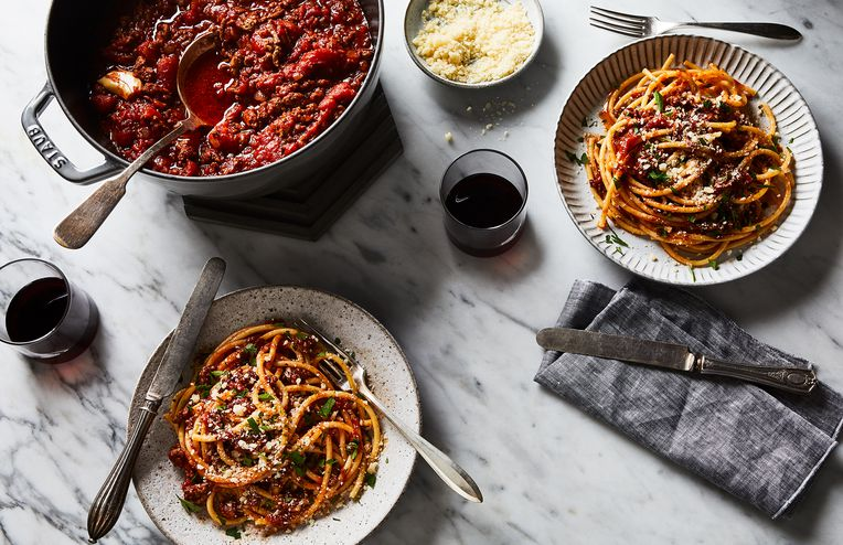 My Time-Traveling Bowl of Spaghetti & Meat Sauce