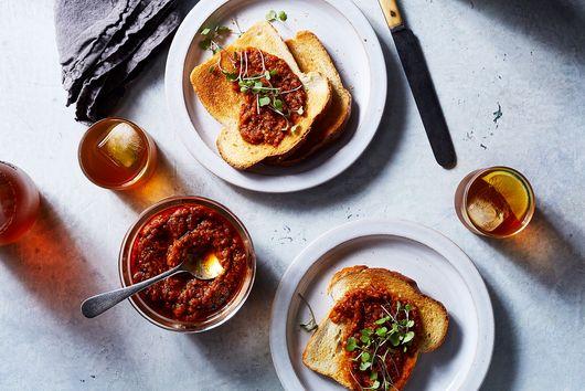 Tomato Relish with Smoked Jalapeño and Arbol Chile