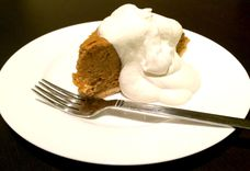 Margaret Main's Pumpkin Chiffon Pie