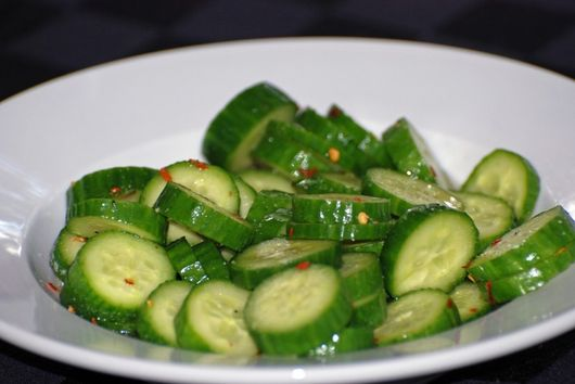 Pickled Baby Cukes