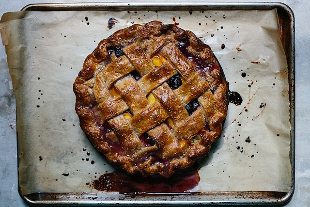 Lattice Peach Pie on Food52