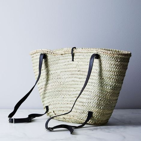Woven Moroccan Market Backpack