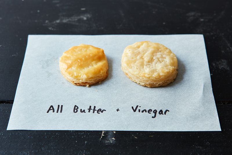 easy pie crust with butter and vinegar