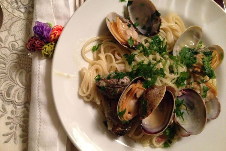Grandma Zaino's Linguine with Clam Sauce