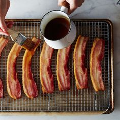 Beer-Candied Bacon