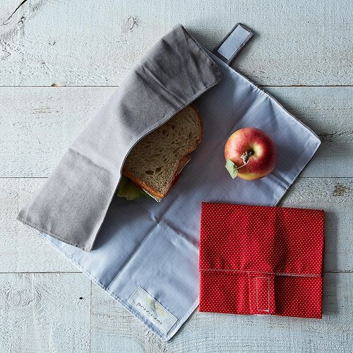 Sandwich wrap as placemat