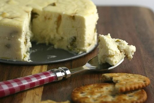 Roasted Hatch Chile Cheesecake