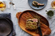 Rack of Lamb with Parmesan-Herb Crust