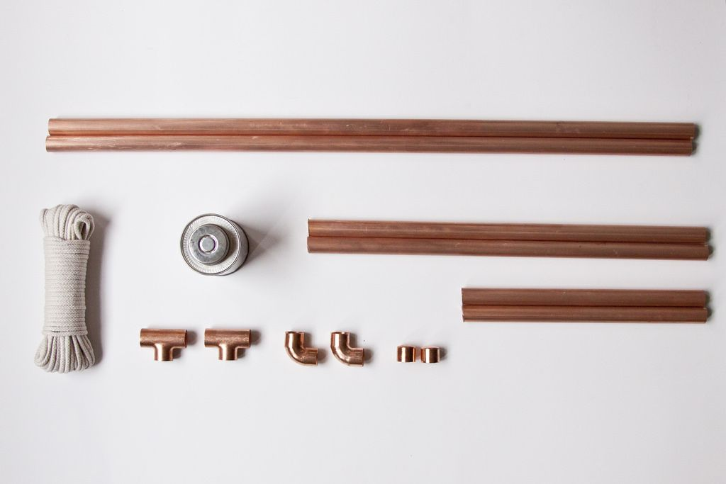 Materials for Copper Clothing Rack