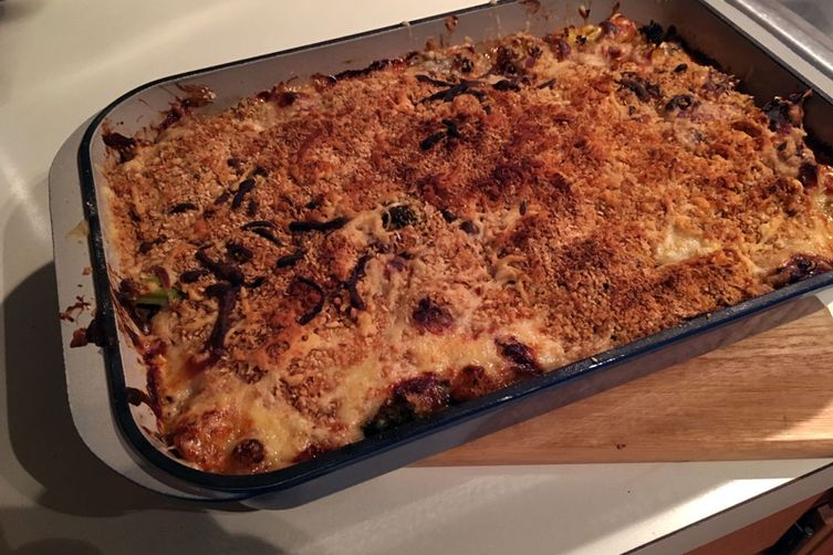 Sausage & Vegetable Gratin
