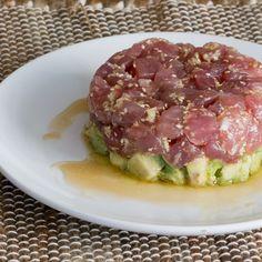 Tuna Tartare with Avocado & Sweet Asian Sauce