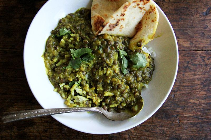 """Curried Lentils with Coconut Milk That Make """"Something from Nothing"""""""