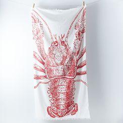 Lobster Cotton Gauze Scarf by thomaspaul