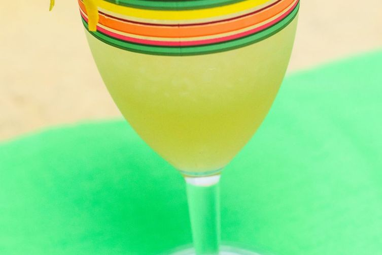 Frozen Preserved Lemon Margarita