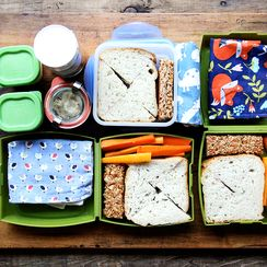 When It Comes to Toddlers, Don't Mess with a Lunch That Works