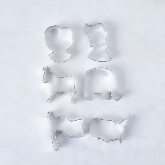Election 2016 Cookie Cutter Set