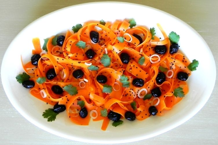 Moroccan Carrot and Olive Salad