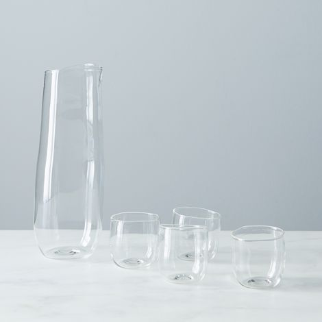 Malfatti Glass Sake Set