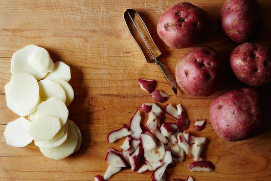 A 'Why Didn't I Think of That?' Way to Peel Potatoes