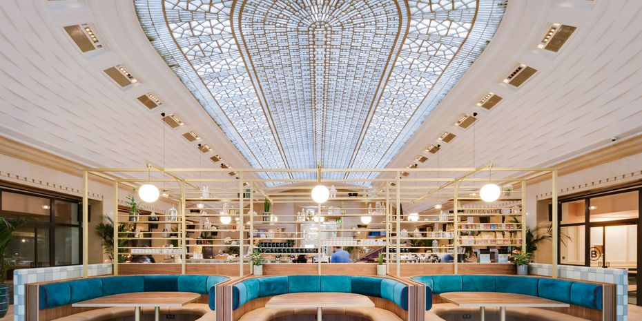 Straight from WeWork's stunning new Parisian offices