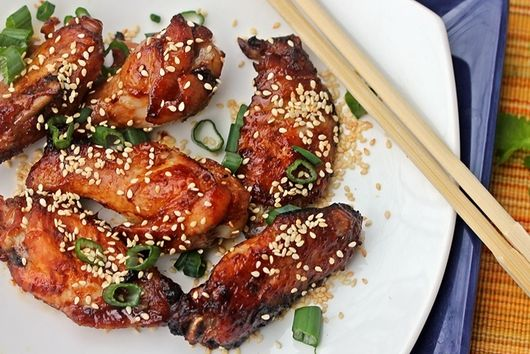 Hoisin and Sriracha Chicken Wings