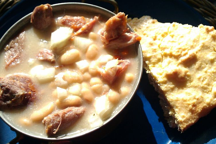 """Sunday Supper-part I  """"Italian Country Ham and Beans"""""""