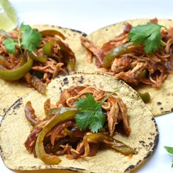 Quickest Pulled Chicken Tacos in Instant Pot