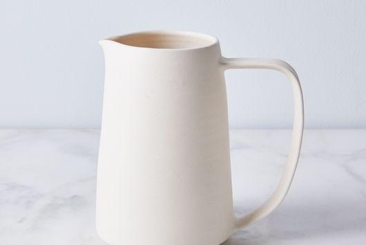 Handmade Porcelain Silhouette Pitcher