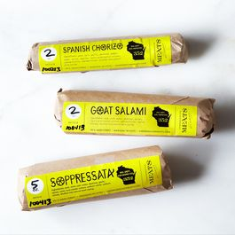 Goat Salami, Spanish Chorizo, and Soppressata Collection