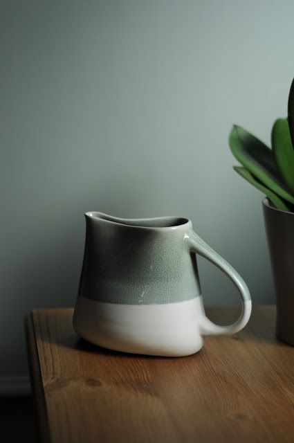 French ceramic mug
