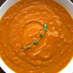 Merrill Makes Roasted Carrot Soup