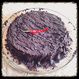 Red Hot Chili Pepper Chocolate Cake