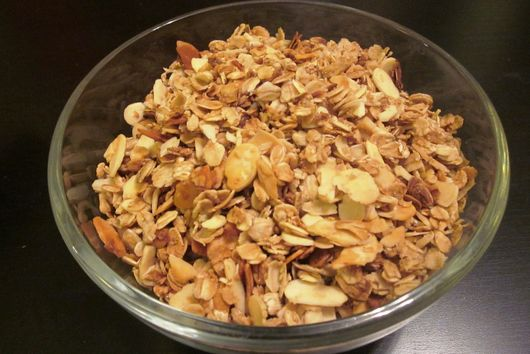 Honey Vanilla Almond Granola