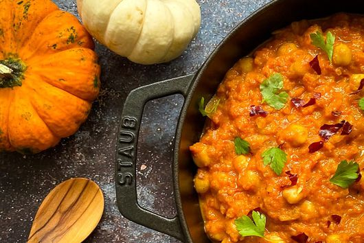 HEAVENLY BUTTERNUT SQUASH AND CHICKPEA CURRY