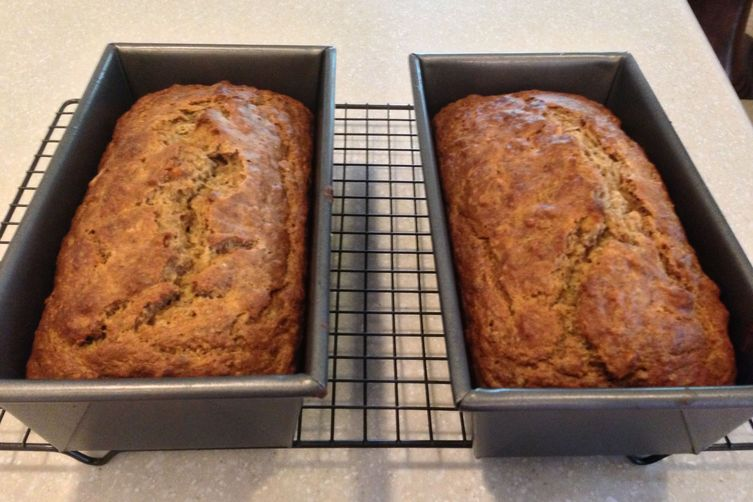 1970's Inspired Honey Banana Nut Bread