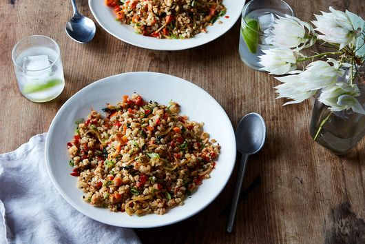 A Fluffy, Vegan Upgrade to Fried Rice for Any Time of Day