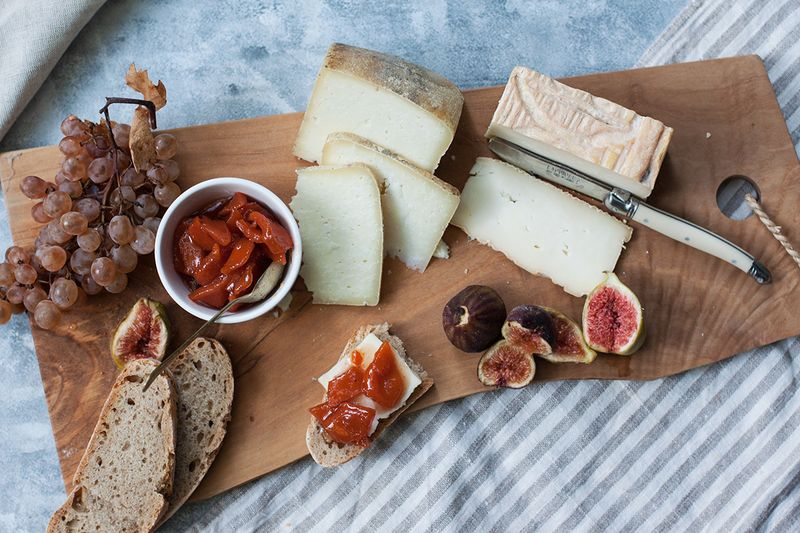 Mostarda is perfect for a cheese platter.