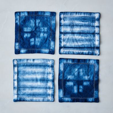 Madewell x Food52 Shibori Cocktail Napkins (Set of 4)
