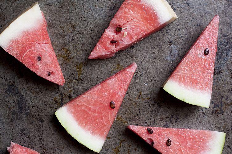 Watermelon Pudding (Gelo d'Anguria)