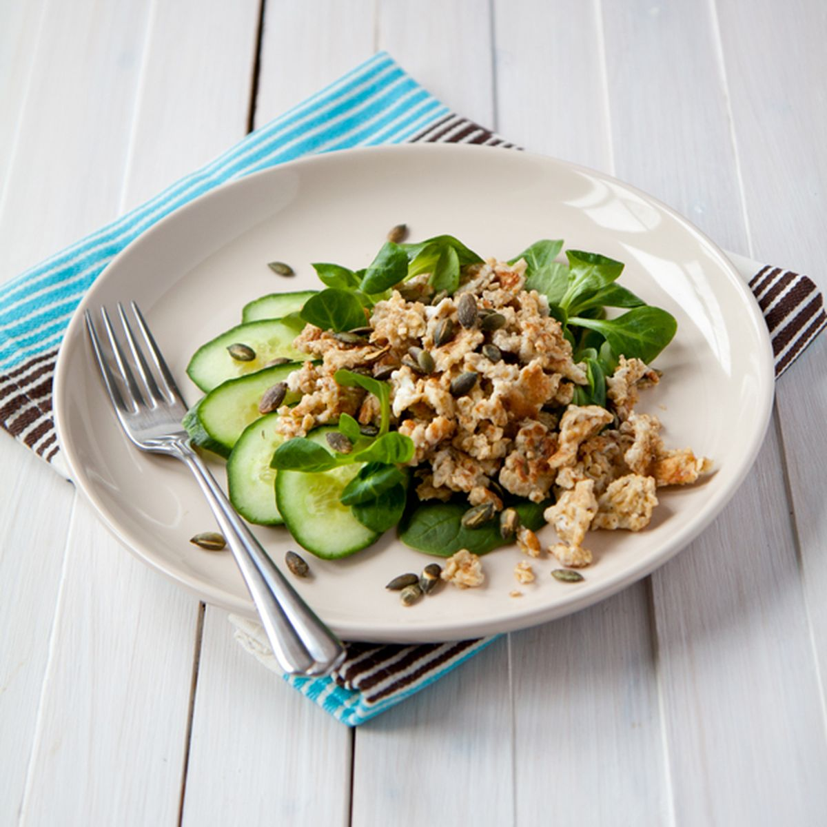Oat scrambled eggs Recipe on Food52